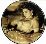 LIKE A VIRGIN - 1985 UK LP PICTURE DISC